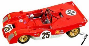 Ferrari 312P Sport  12 Hours Sebring  1/43