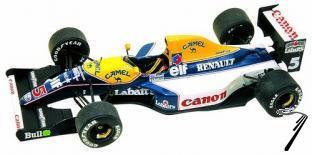 Williams FW14 RENAULT Italian G.P.  1/43