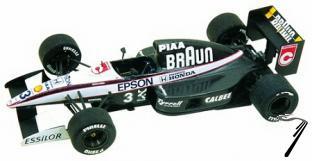 Tyrrell 20 HONDA Japan G.P.  1/43