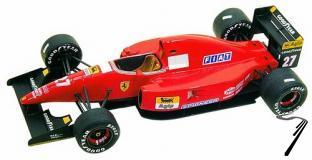 Ferrari F92A  South African G.P.  1/43