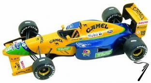 Benetton B191b FORD South African G.P.  1/43