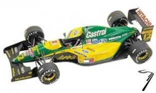 Lotus 107 FORD Italian G.P.  1/43