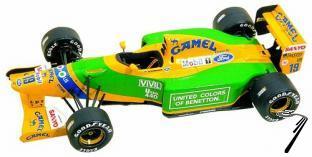 Benetton B192 Ford Belgian G.P.  1/43