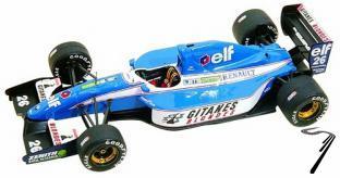 Ligier Js37 RENAULT French G.P.  1/43