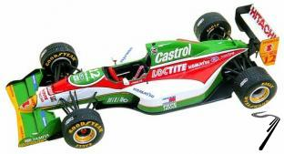 Lotus 107b FORD European G.P.  1/43