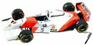 Mac Laren MP4/8 FORD European G.P.  1/43