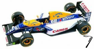 Williams FW15c RENAULT European G.P.  1/43
