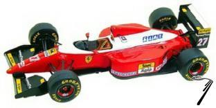 Ferrari F93A  Italian G.P.  1/43