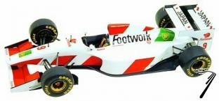 Footwork Fa14 MUGEN French G.P.  1/43