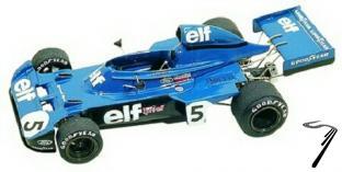 Tyrrell 6 FORD Monaco G.P.  1/43