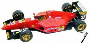 Ferrari 412T1  Brazilian G.P.  1/43