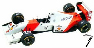 Mac Laren MP4/9 PEUGEOT Brazilian G.P.  1/43