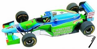 Benetton B194 FORD European G.P. - kit à monter  1/43