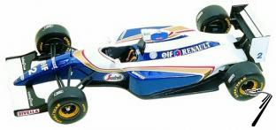 Williams FW16 RENAULT Brazilian G.P.  1/43
