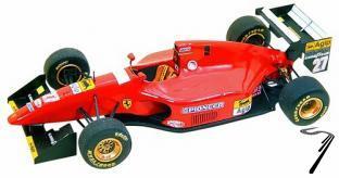 Ferrari 412T1  Canadian G.P:  1/43