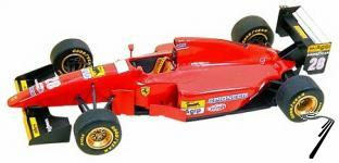 Ferrari 412T1B   German G.P.  1/43