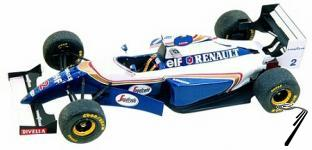 Williams FW16 RENAULT Australian G.P.  1/43
