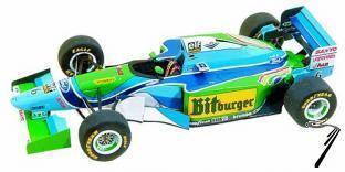 Benetton B194 FORD Australian G.P.  1/43