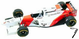 Mac Laren MP4/10 MERCEDES Brazilian G.P.  1/43