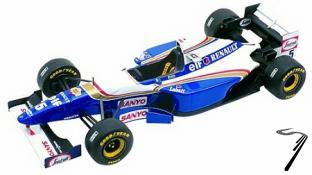 Williams FW17 RENAULT Argentine G.P.  1/43