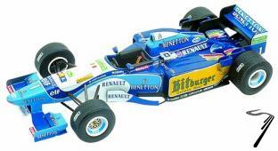 Benetton B195 RENAULT Japan G.P.  1/43
