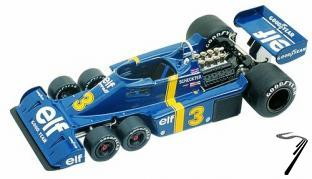 Tyrrell P34 FORD Swedish G.P.  1/43