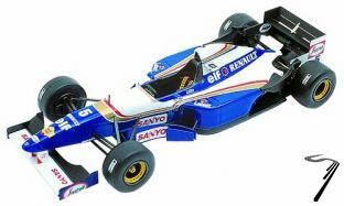 Williams FW17b RENAULT Pacific G.P.  1/43