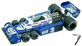Tyrrell P34/2 FORD Monaco G.P.  1/43