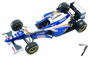Williams FW18 RENAULT Argentine G.P.  1/43