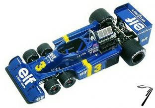 Tyrrell P34 FORD Japan G.P.  1/43