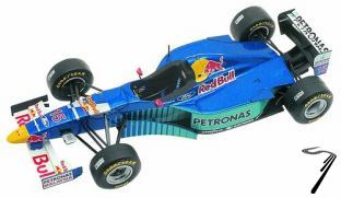 Sauber C15 FORD German G.P.  1/43