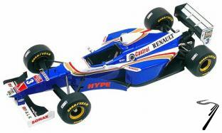Williams FW19 RENAULT Brazilian G.P.  1/43