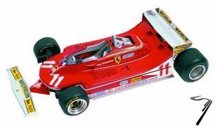 Ferrari 312T4  Monaco G.P.  1/43