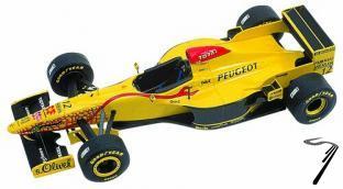 Jordan 197 PEUGEOT Monaco G.P.  1/43