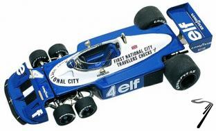 Tyrrell P34/2 FORD British G.P.  1/43