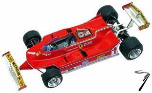 Ferrari 312T5  Belgian G.P.  1/43
