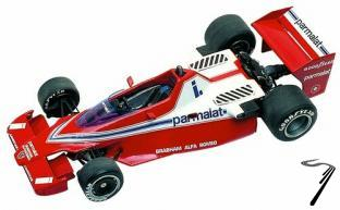 Brabham BT46 ALFA ROMEO South African G.P.  1/43
