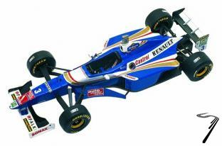Williams FW19 RENAULT European G.P.  1/43