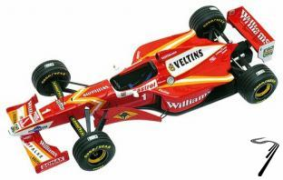 Williams FW19 MECACHROME Test Car  1/43