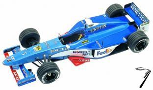 Benetton B198 PLAYLIFE Australian G.P.  1/43