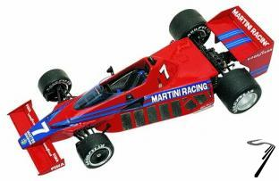 Brabham BT46 ALFA ROMEO Press Version  1/43