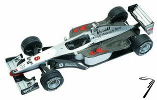 Mac Laren MP4/13 MERCEDES Australian G.P.  1/43