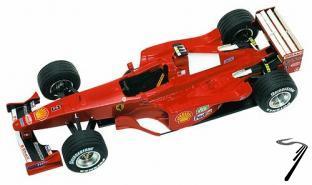 Ferrari F399  Monaco G.P.  1/43