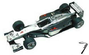 Mac Laren MP4/14 MERCEDES Japan G.P.  1/43