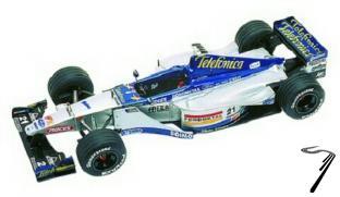 Minardi M01 FORD European G.P.  1/43