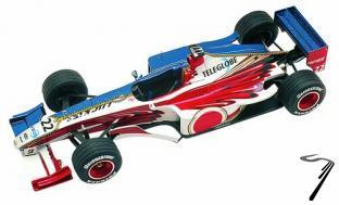 BAR 1 SUPERTEC Monaco G.P.  1/43