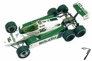 Williams FW08B FORD  1/43