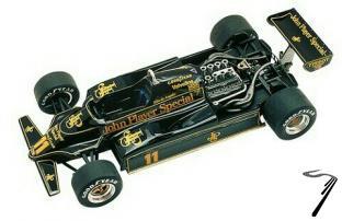 Lotus 91 FORD Monaco G.P.  1/43