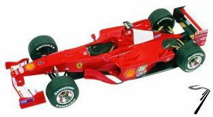 Ferrari F1 2000   German G.P.  1/43