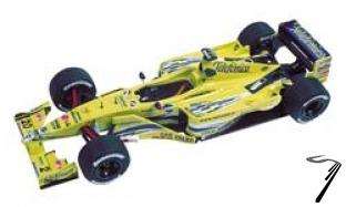 Minardi M02 FONDMETAL San Marino G.P.  1/43